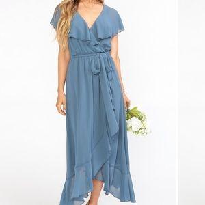 Jess Ruffle Midi Dress (ShowMeYourMumu)